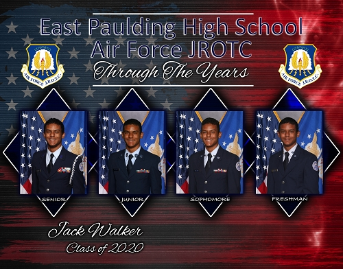 Through the Years Composite (JROTC) 11X14